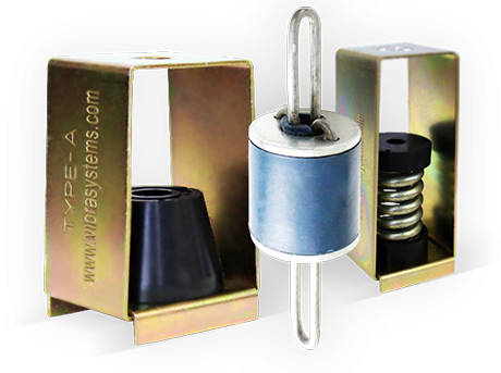 Spring and Elastomer Isolators